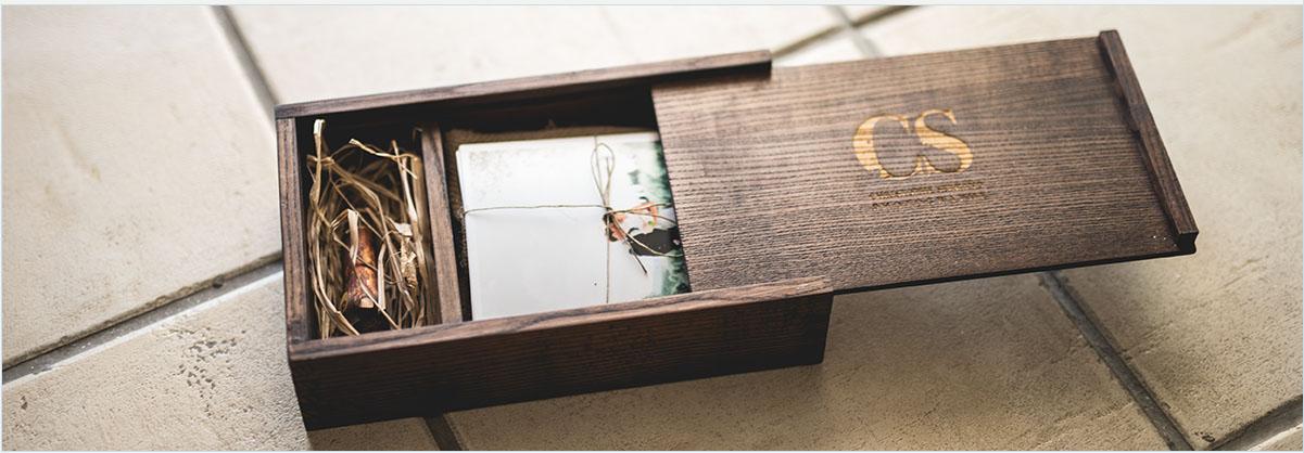 packaging mariage Christophe Serrano